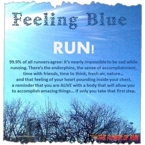 feeling blue - run